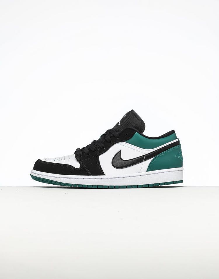 364c904660aed Air Jordan 1 Low White/Black/Green – Culture Kings