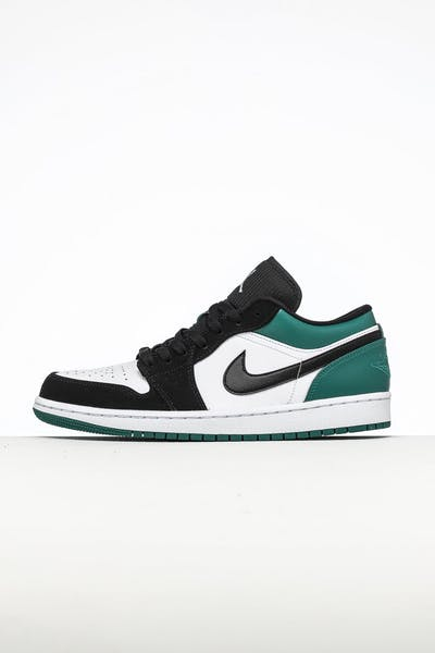 c5b265f0413a0b Nike Air Jordan 1 Low White Black Green