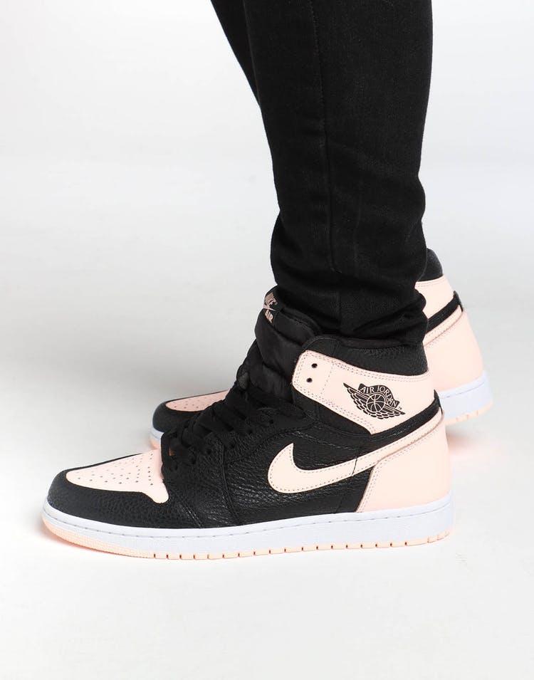 3f9fdf69718d52 Jordan Air Jordan 1 Retro High OG Black Pink White – Culture Kings