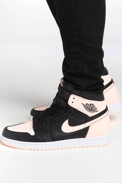 163f67eb21297 Jordan Air Jordan 1 Retro High OG Black Pink White