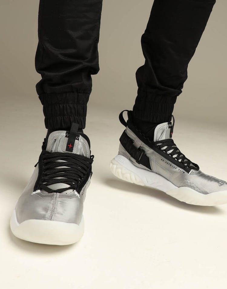 hot sale online 9917c c4c45 Jordan Proto-React Silver Black – Culture Kings