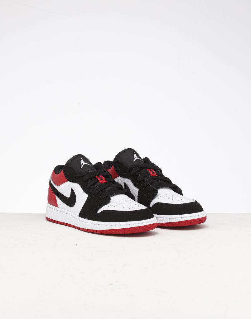 Jordan Kids Air Jordan 1 Low (GS) WhiteBlackRed