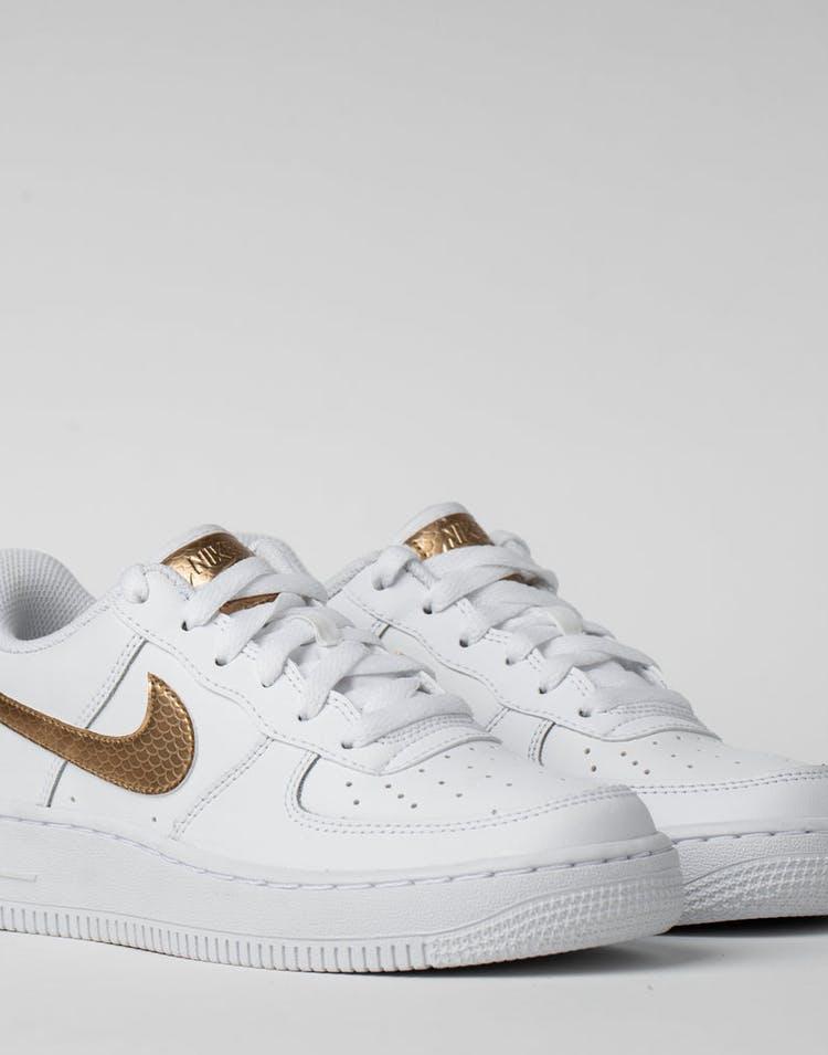 low priced c4117 b3e76 Nike Kids Air Force 1 EP (GS) White Blur