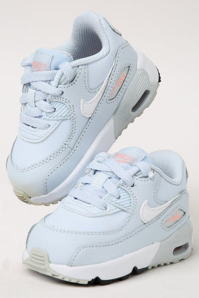 a006ba263ad6 Nike Toddler Air Max 90 Leather (TD) Half Blue White