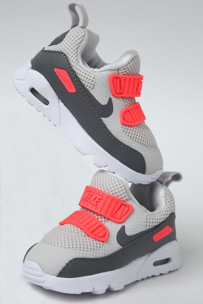 071a8b2ecb2 Nike Toddler Air Max Tiny 90 (TD) Grey Crimson White