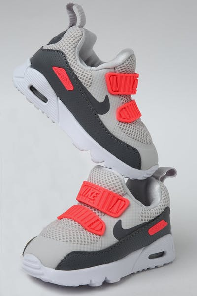 ad38807185d7 Nike Toddler Air Max Tiny 90 (TD) Grey Crimson White