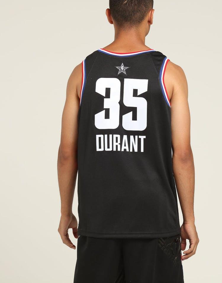 best service 954ff 9f8b7 ASW Kevin Durant #35 All-Star Edition Swingman Black
