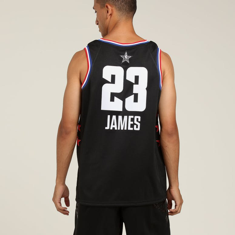 a52411f39 ASW Lebron James  23 All-Star Edition Swingman Black – Culture Kings