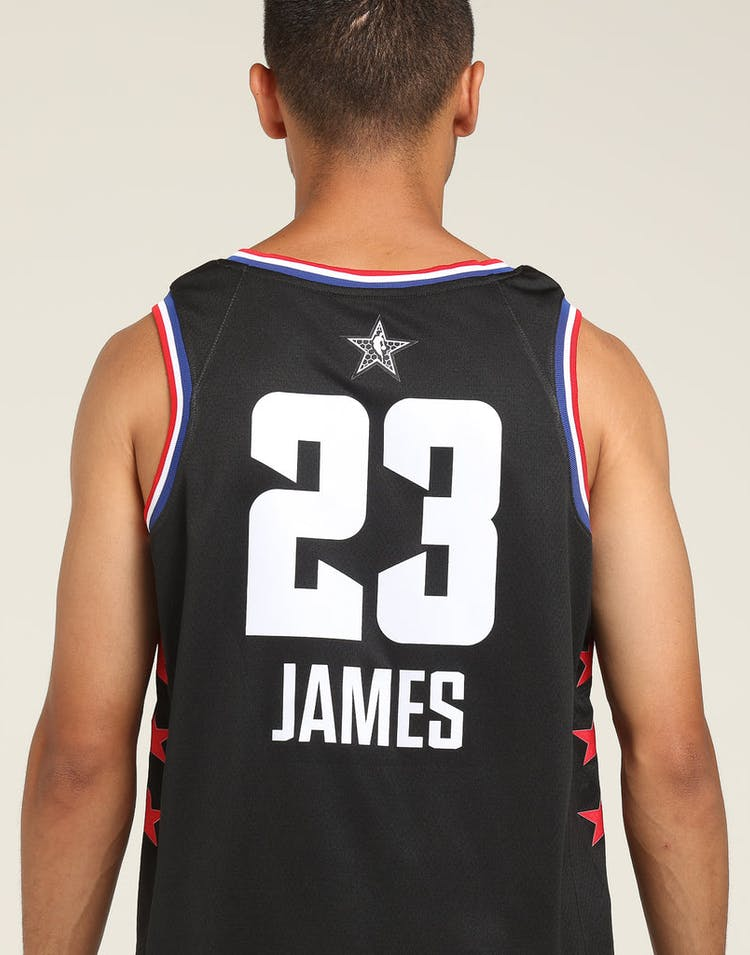 ASW Lebron James #23 All-Star Edition Swingman Black