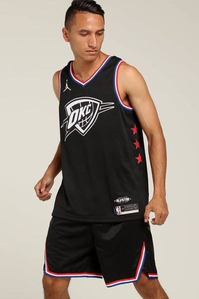 ASW Russell Westbrook  0 All-Star Edition Swingman Black 354a8bd49596