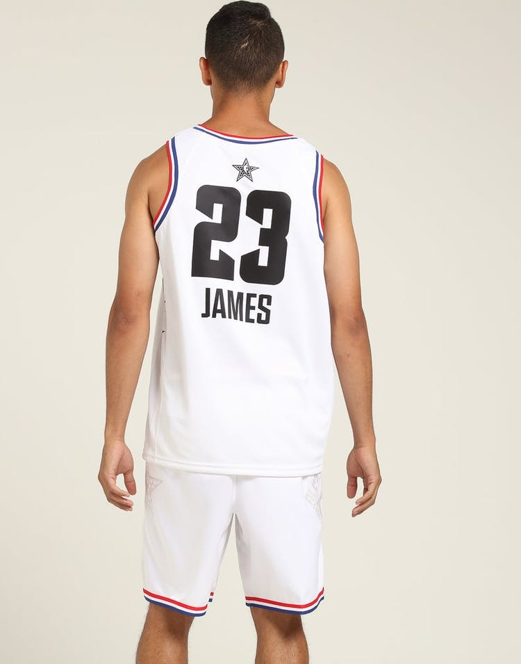 8bfd7c5fa3a ASW LeBron James #23 All-Star Edition Swingman White – Culture Kings