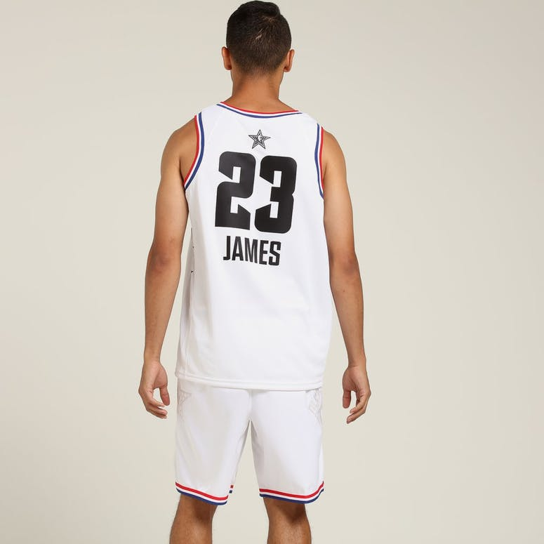 ASW LeBron James #23 All-Star Edition Swingman White