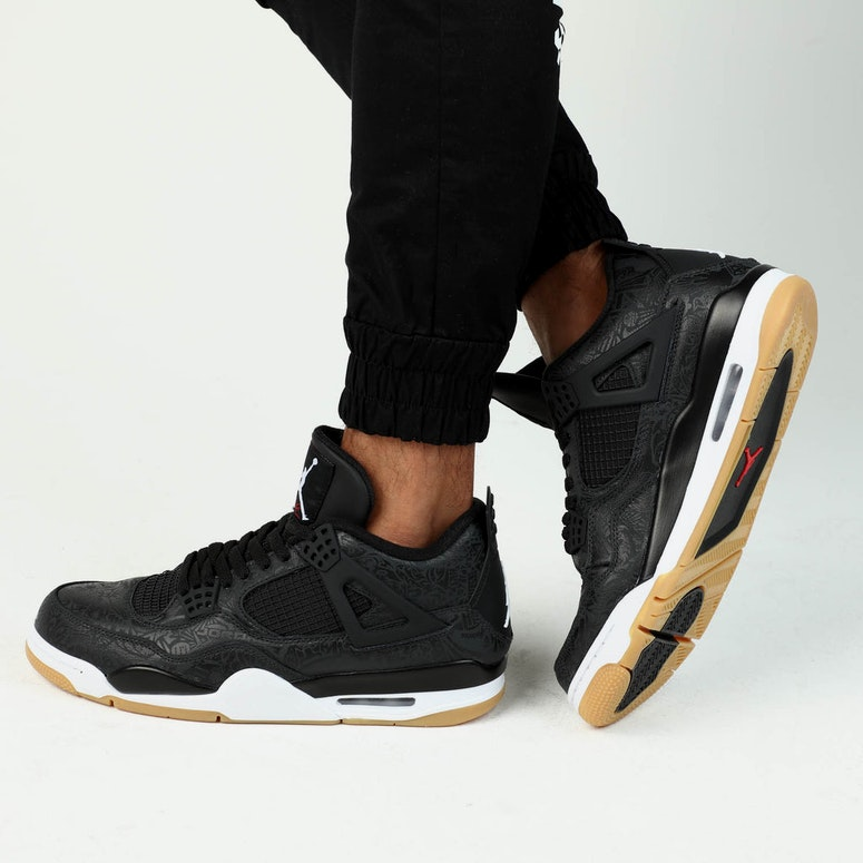 buy online 35109 b212f These Black Gum Air Jordan 4s Are Worth The Hype – Culture Kings