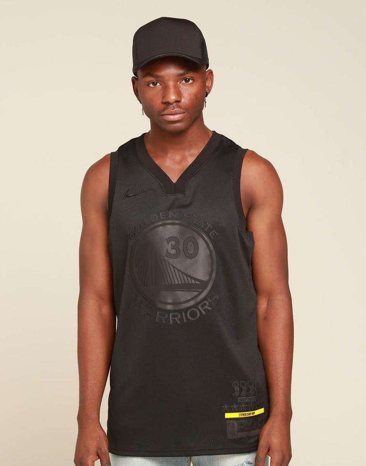 the best attitude 217a2 4929e Nike Golden State Warriors Stephen Curry MVP Swingman Black