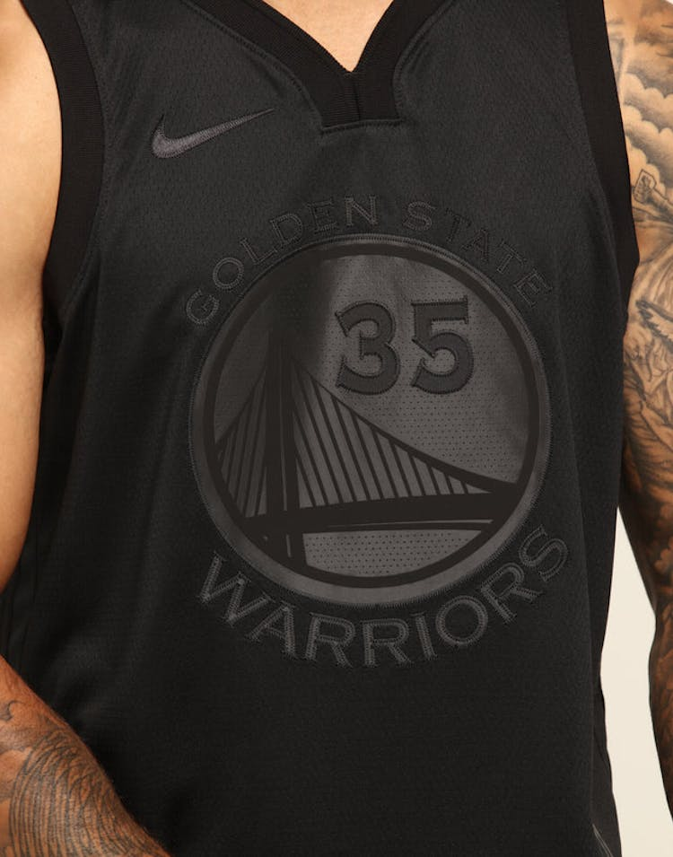 huge selection of d2527 d54c5 NIKE GOLDEN STATE WARRIORS KEVIN DURANT MVP SWINGMAN BLACK