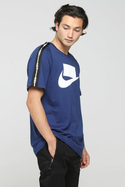 Nike NSW 2 SS Tee Blue/White