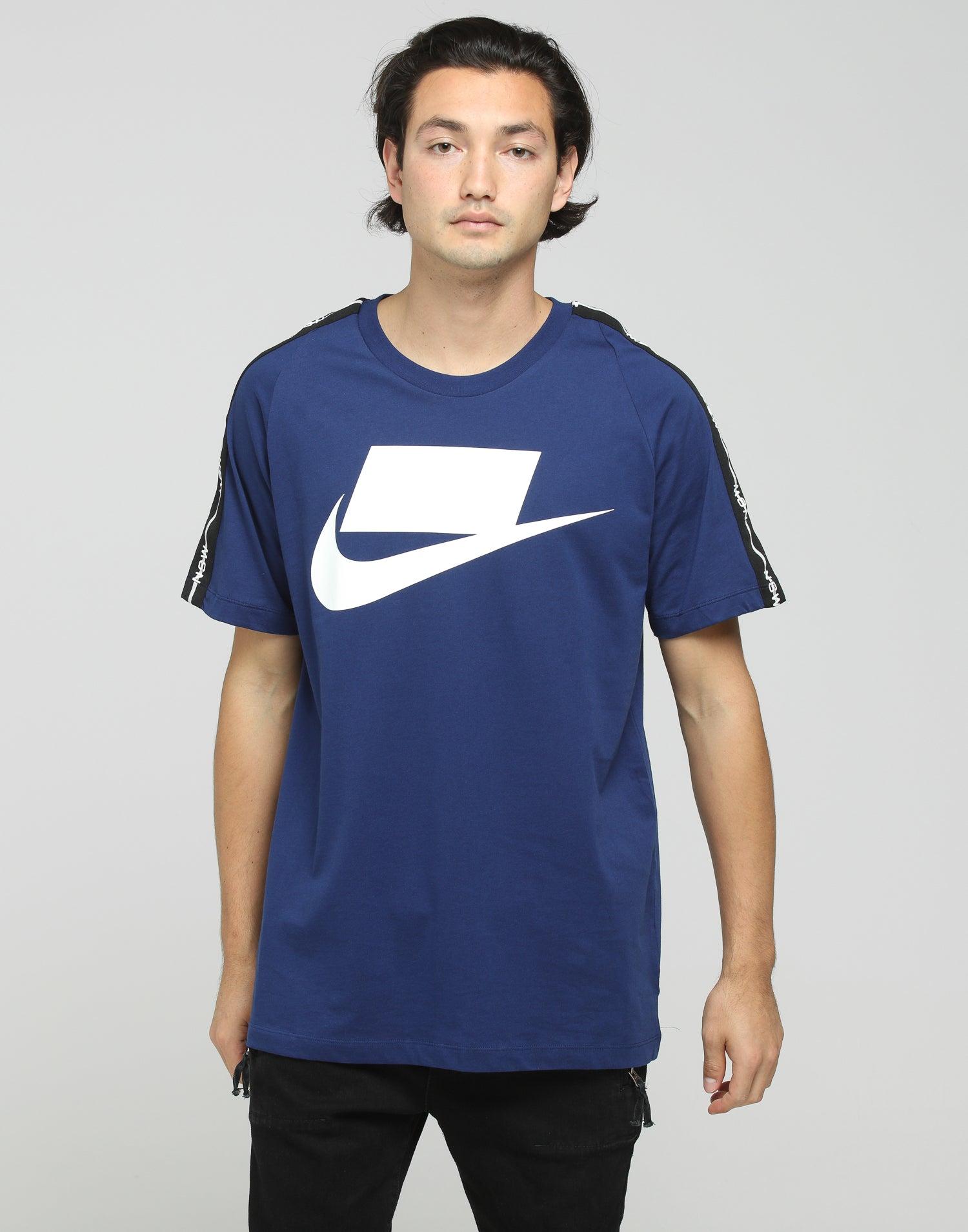 Nike NSW 2 SS Tee BlueWhite