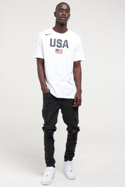 Nike USA Basketball SS Dry Tee White