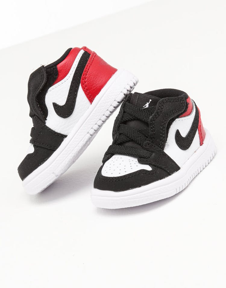 best website 65791 6dbfd Jordan Toddler Jordan 1 Low Alt White/Black/Red