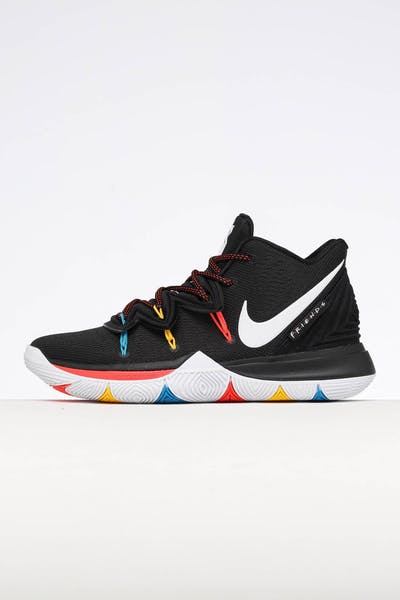 d30444f4414a Nike Kyrie 5 Black White Multi