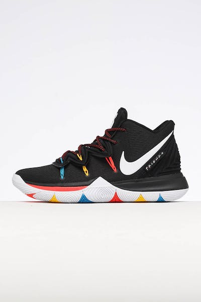 new product 6588f 5d8f0 Nike Kyrie 5 Black White Multi