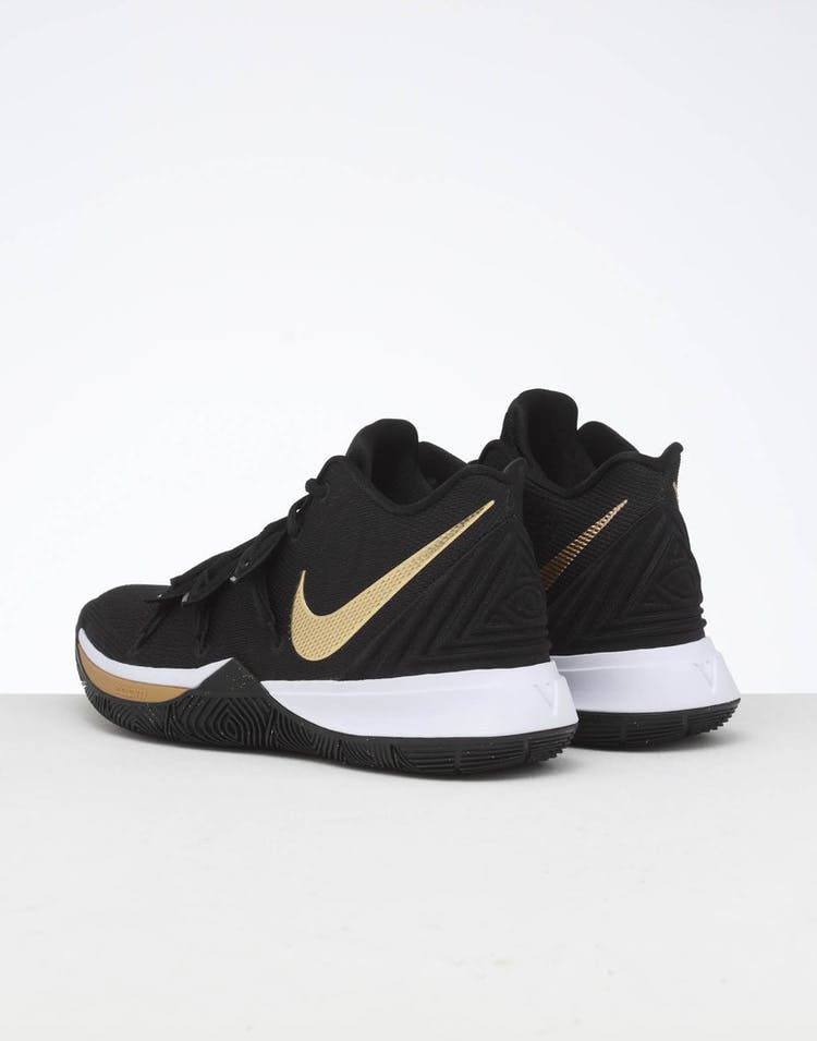 hot sales 17f9d 7e4fd Nike Kyrie 5 Black Gold White
