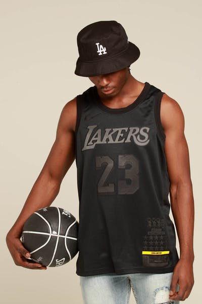 52bb226f9 Nike Los Angeles Lakers Lebron James MVP Swingman Black