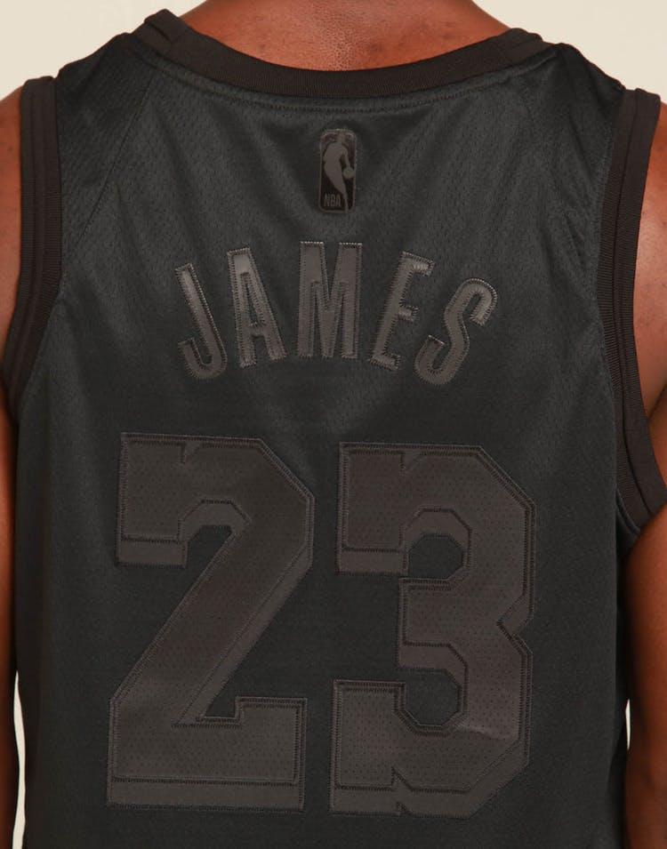 f22ebb16d3a7 Nike Los Angeles Lakers Lebron James MVP Swingman Black – Culture Kings