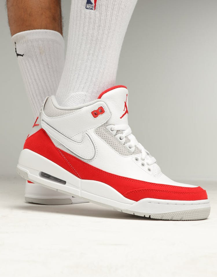 e9b3652edaf0c7 JORDAN AIR JORDAN 3 RETRO TH SP WHITE RED GREY – Culture Kings