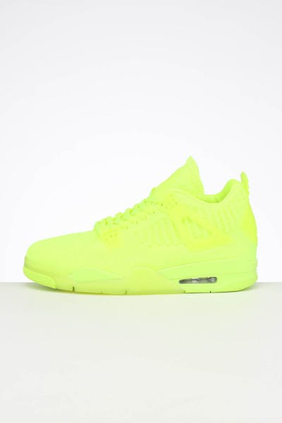 Jordan Air Jordan 4 Retro Flyknit Volt/Black