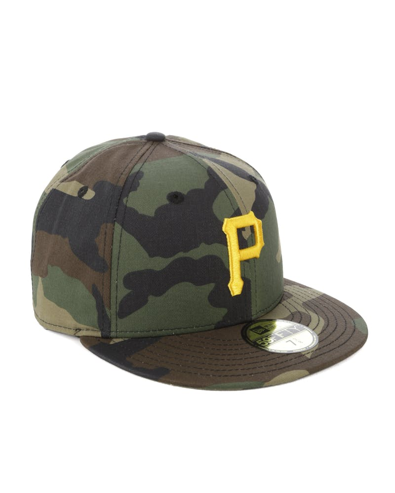 New Era Pittsburgh Pirates 59FIFTY Team Fitted Camo
