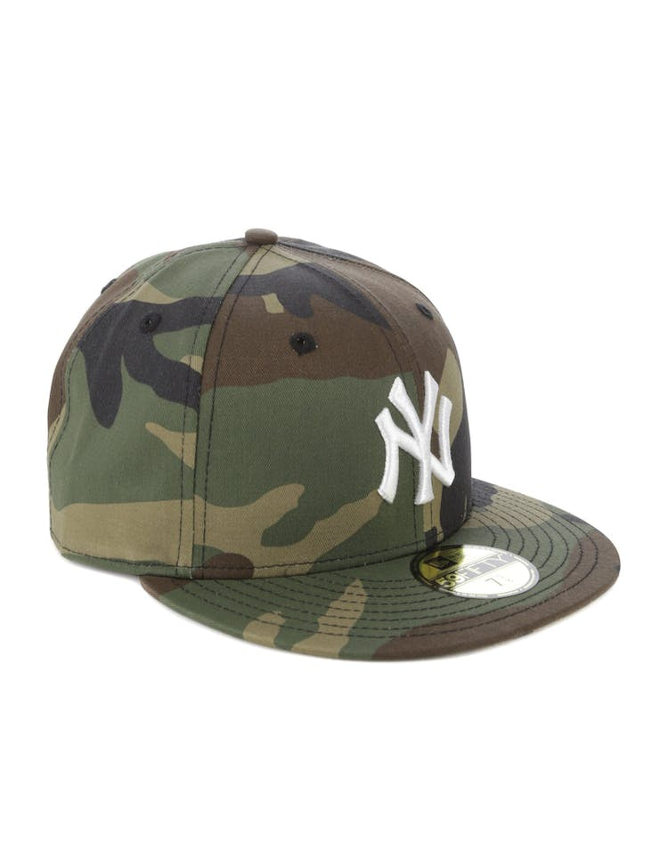 finest selection 0c2ae 06537 New Era New York Yankees 59FIFTY Team Fitted Camo