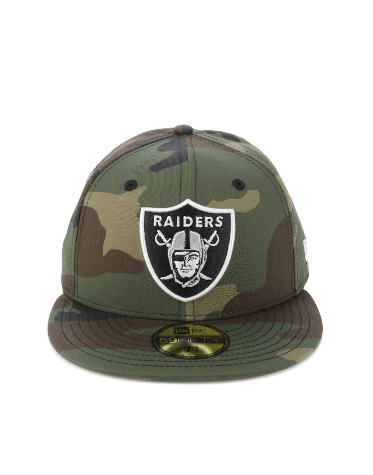 87350d88 New Era Oakland Raiders 59FIFTY Team Fitted Camo