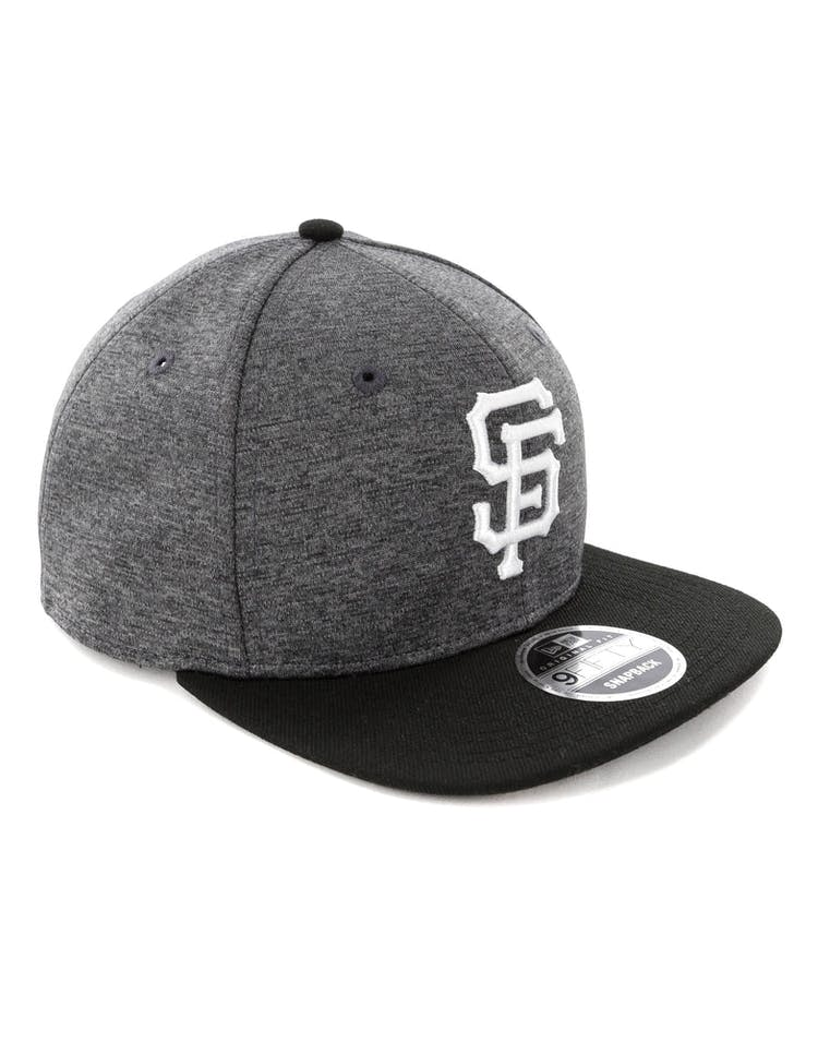 official photos a0281 8dff0 New Era San Francisco Giants 9FIFTY Original Fit Snapback Graphite