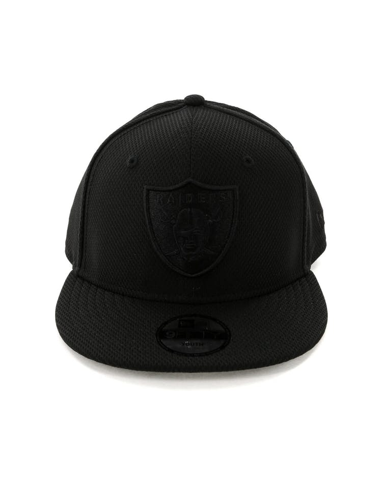 buy online 25182 313a5 New Era Kids Raiders 9FIFTY Snapback Black – Culture Kings