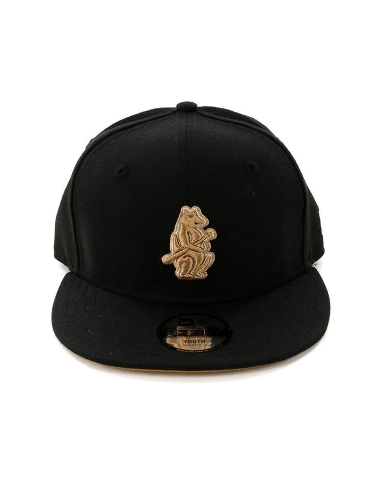 best service d9945 d7244 New Era Kids Chicago Cubs 9FIFTY Snapback Black – Culture Kings