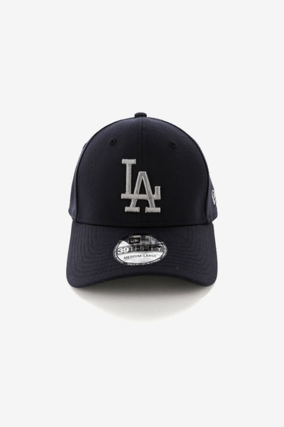New Era Los Angeles Dodgers 39THIRTY Stretch Navy be81293a1bf6