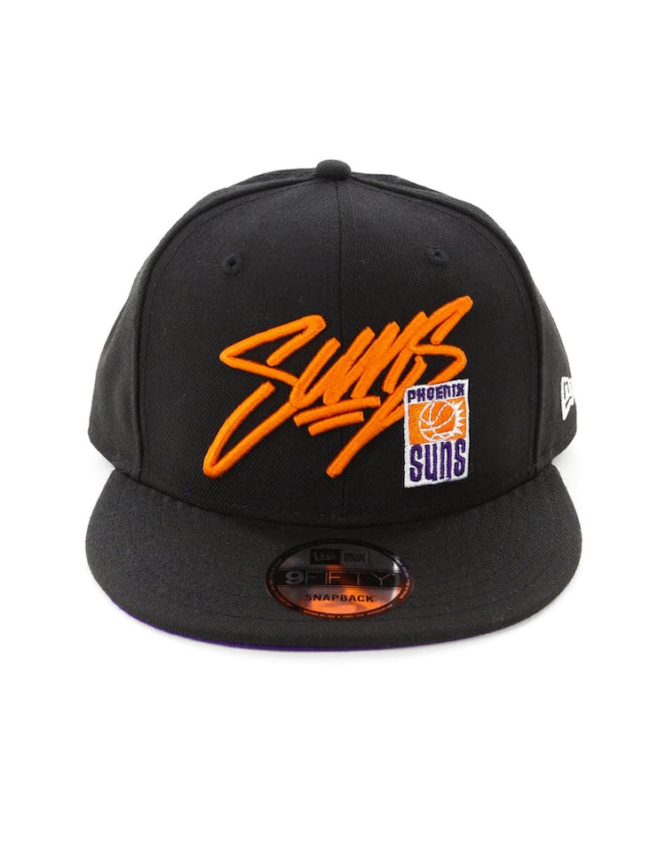 factory authentic d5ce8 aa02a New Era Phoenix Suns 9FIFTY Snapback Black – Culture Kings