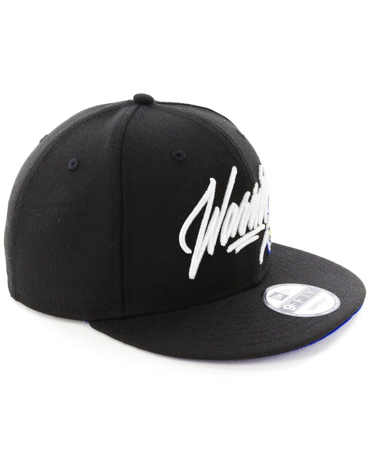 New Era Golden State Warriors 9FIFTY Snapback Black