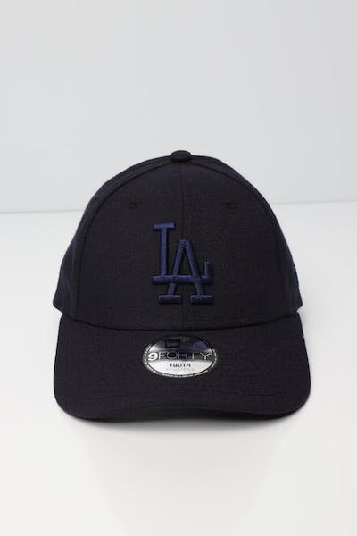 New Era Youth Los Angeles Dodgers 9FORTY Velcroback Navy