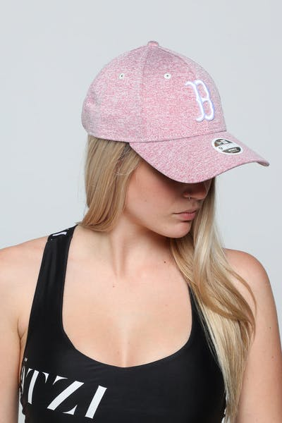 New Era Women's Boston Red Sox 9FORTY CS Strapback Pink