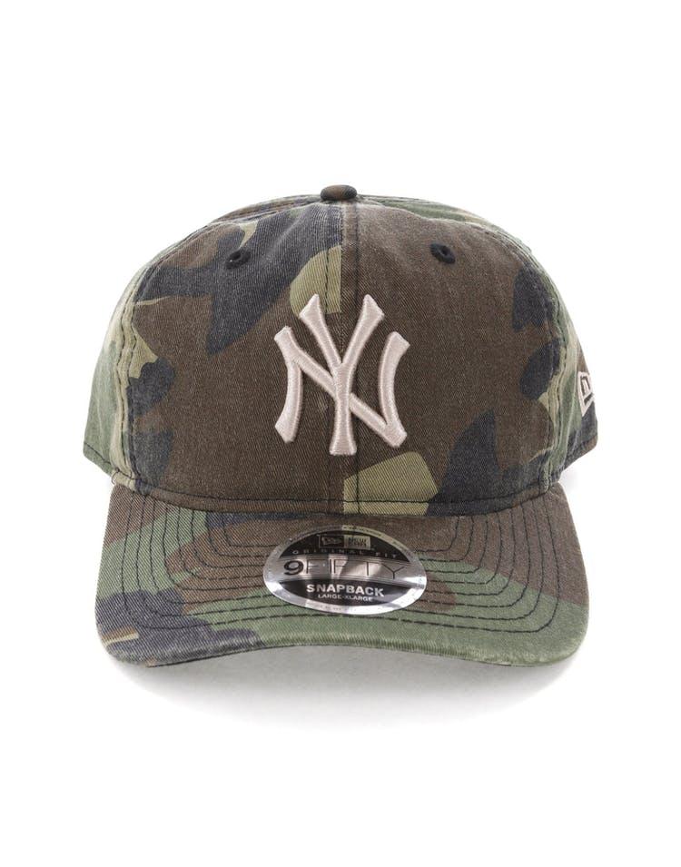 4a7ba692 New Era New York Yankees 9FIFTY Original Fit Snapback Woodland Camo –  Culture Kings