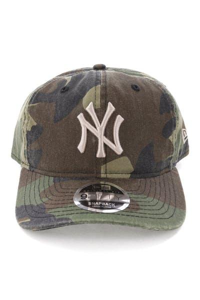 ffc16bf2 New Era New York Yankees 9FIFTY Original Fit Snapback Woodland Camo