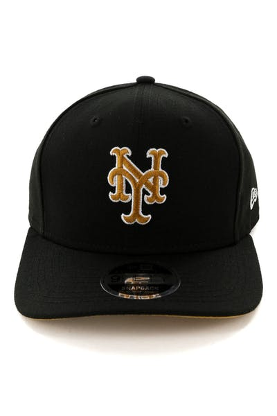 quality design 06658 be113 New Era New York Mets 9FIFTY Original Fit Snapback Black ...