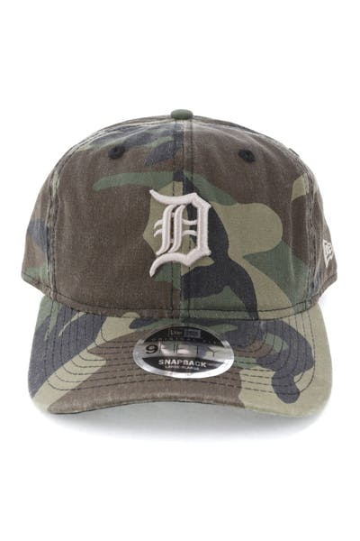 low priced fdd6a 4acd0 New Era Detroit Tigers 9FIFTY Original Fit Snapback Woodland Camo