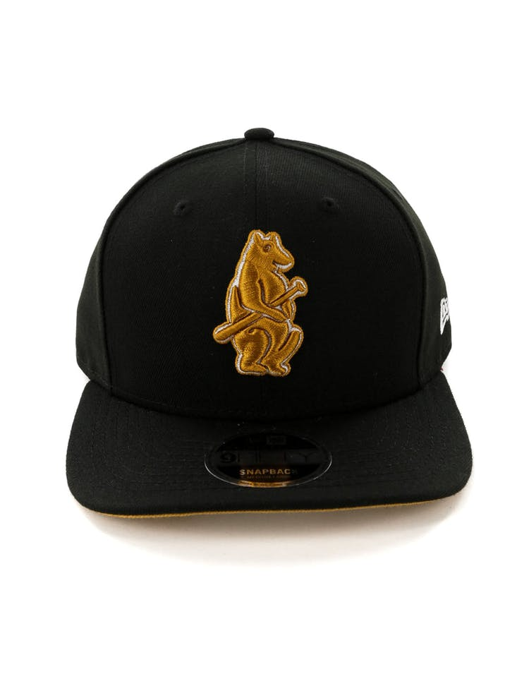 8b83e4abf New Era Chicago Cubs 9FIFTY Original Fit Snapback Black – Culture Kings