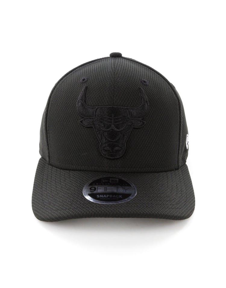 5f55ed81401 New Era Chicago Bulls 9FIFTY Original Fit Precurve Snapback Black – Culture  Kings