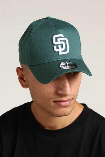 New Era San Diego Padres 9FORTY A-Frame Snapback Pine