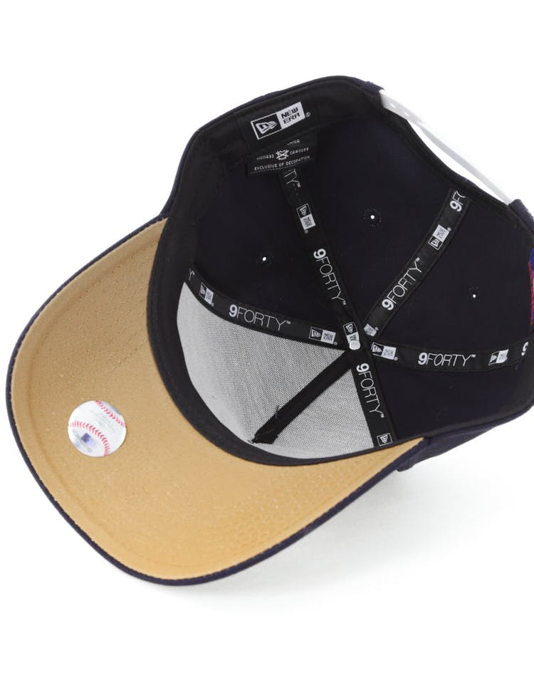 d34102af New Era New York Yankees 9FORTY A-Frame Snapback Navy – Culture Kings