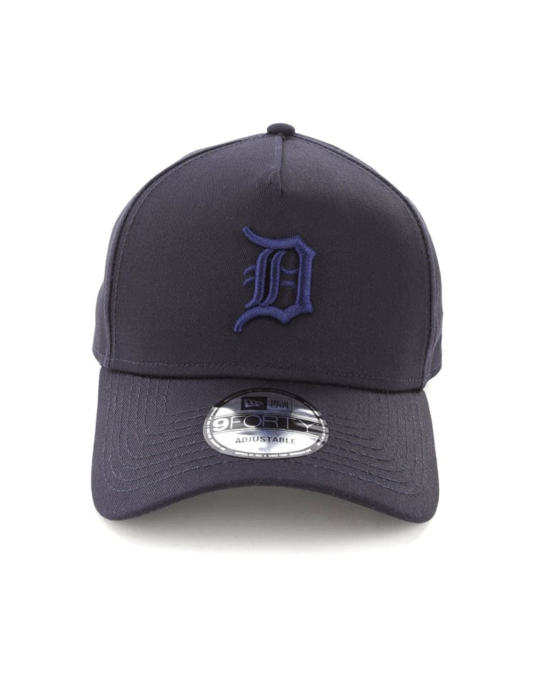 5e3470ec New Era Detroit Tigers 9FORTY A-Frame Snapback Navy – Culture Kings